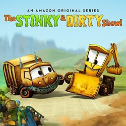 The Stinky & Dirty Show Trilha sonora (Dan Bern) - capa de CD