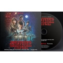 Stranger Things - Vol. Two Soundtrack (Kyle Dixon, Michael Stein) - CD-Inlay