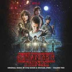 Stranger Things - Vol. Two Soundtrack (Kyle Dixon, Michael Stein) - CD-Cover