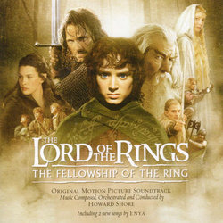 The Lord of the Rings: The Fellowship of the Ring サウンドトラック (Howard Shore) - CDカバー
