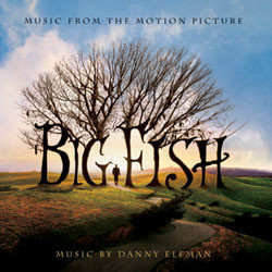 Big Fish Soundtrack (Various Artists, Danny Elfman) - CD-Cover