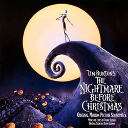 The Nightmare Before Christmas Soundtrack (Danny Elfman) - CD-Cover