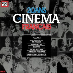 20 Ans de Cinema Français Soundtrack (Various Artists) - Carátula