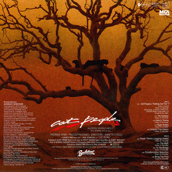 Cat People Soundtrack (Giorgio Moroder) - CD Trasero