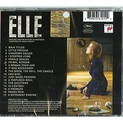 Elle Soundtrack (Anne Dudley) - CD Trasero