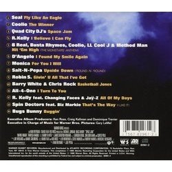 Space Jam Soundtrack (Various Artists) - CD Trasero