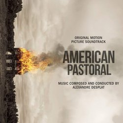 American Pastoral Soundtrack (Alexandre Desplat) - CD cover