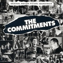 The Commitments Soundtrack  (Various Artists) - CD cover