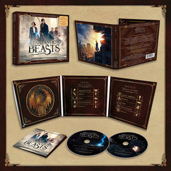 Fantastic Beasts and Where to Find Them Soundtrack (James Newton Howard) - cd-carátula