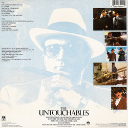 The Untouchables Bande Originale (Ennio Morricone) - CD Arrière