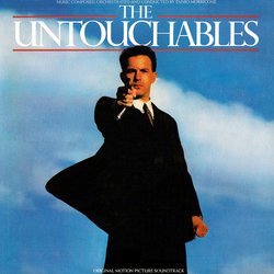 The Untouchables Bande Originale (Ennio Morricone) - Pochettes de CD