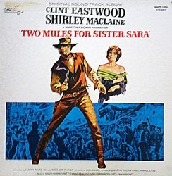 Two Mules for Sister Sara Soundtrack (Ennio Morricone) - CD cover
