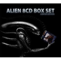 Alien Box Set Ścieżka dźwiękowa (John Frizzell, Elliot Goldenthal, Jerry Goldsmith, James Horner) - Okładka CD