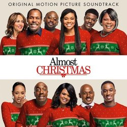 Almost Christmas Soundtrack (John Paesano) - CD-Cover