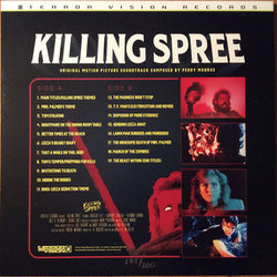Killing Spree Colonna sonora (Perry Monroe) - Copertina posteriore CD