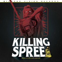 Killing Spree Colonna sonora (Perry Monroe) - Copertina del CD