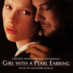 Girl with a Pearl Earring Soundtrack (Alexandre Desplat) - CD cover