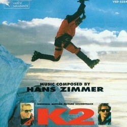 K2 Soundtrack (Hans Zimmer) - CD cover