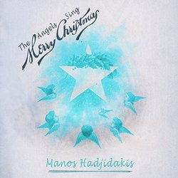 The Angels Sing Merry Christmas サウンドトラック (Manos Hadjidakis) - CDカバー
