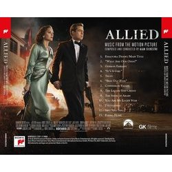 Allied Colonna sonora (Alan Silvestri) - cd-inlay