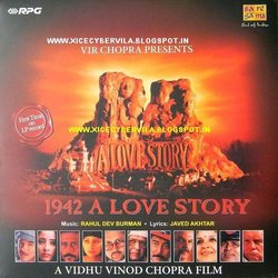 1942: A Love Story Bande Originale (Javed Akhtar, Various Artists, Rahul Dev Burman) - Pochettes de CD