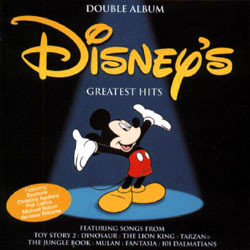 Disney's Greatest Hits Soundtrack  (Various Artists) - CD cover