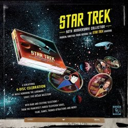 Star Trek: 50th Anniversary Collection Trilha sonora (Various Artists) - CD-inlay