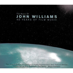 The Music of John Williams: 40 Years of Film Music Soundtrack (John Williams) - Carátula