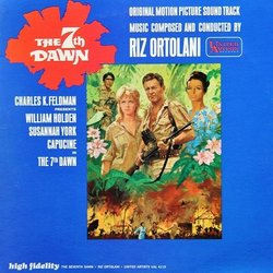 The 7th Dawn Soundtrack (Riz Ortolani) - Carátula