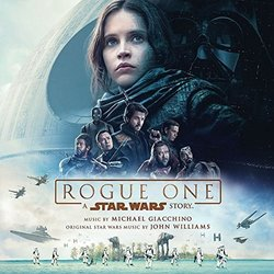 Rogue One: A Star Wars Story Trilha sonora (Michael Giacchino) - capa de CD