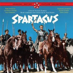 Spartacus Bande Originale (Alex North) - Pochettes de CD