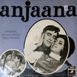 Anjaana Soundtrack (Various Artists, Anand Bakshi, Laxmikant Pyarelal) - CD cover