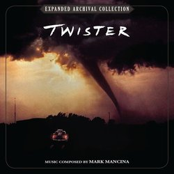 Twister Soundtrack (Mark Mancina) - CD cover
