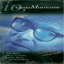 Io - Ennio Morricone: Film, Chamber, Piano & Symphonic Music Soundtrack (Ennio Morricone) - CD cover