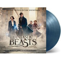Fantastic Beasts and Where to Find Them サウンドトラック (James Newton Howard) - CDインレイ