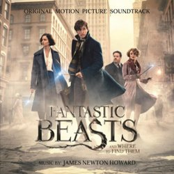 Fantastic Beasts and Where to Find Them サウンドトラック (James Newton Howard) - CDカバー