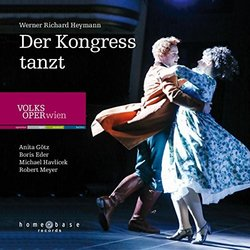 Der Kongress tanzt Soundtrack (Werner Richard Heymann) - CD cover