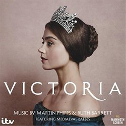 Victoria Soundtrack (Ruth Barrett, Martin Phipps) - CD cover