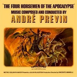 The 4 Horsemen of the Apocalypse Soundtrack (André Previn) - Carátula
