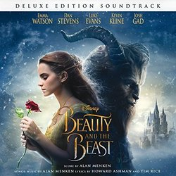 Beauty And The Beast Soundtrack (Howard Ashman, Alan Menken, Tim Rice) - CD cover