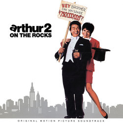 Arthur 2: On the Rocks Ścieżka dźwiękowa (Various Artists, Burt Bacharach) - Okładka CD