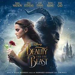 Beauty and the Beast Trilha sonora (Howard Ashman, Alan Menken, Tim Rice) - capa de CD