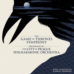 The Game of Thrones Symphony Soundtrack (Ramin Djawadi) - CD cover
