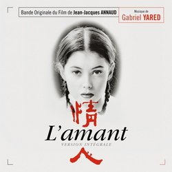 L' Amant Soundtrack (Gabriel Yared) - CD cover