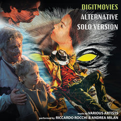 Digitmovies Alternative Solo Version Soundtrack (Various Artists, Andrea Milan, Riccardo Rocchi) - CD cover