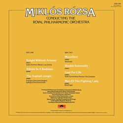 Miklos Rozsa Conducting the Royal Philharmonic Orchestra 聲帶 (Miklós Rózsa) - CD後蓋