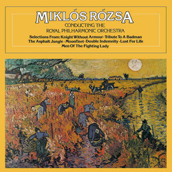 Miklos Rozsa Conducting the Royal Philharmonic Orchestra 聲帶 (Miklós Rózsa) - CD封面