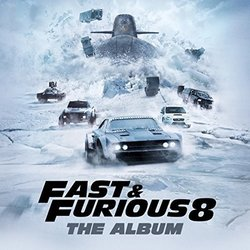Fast & Furious 8: The Album Soundtrack (Various Artists) - CD cover