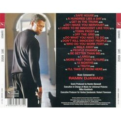 Safe House Soundtrack (Ramin Djawadi) - CD Trasero