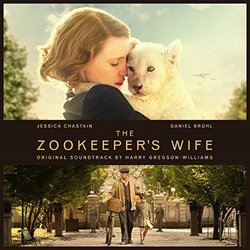 The Zookeeper's Wife Soundtrack (Harry Gregson-Williams) - CD cover